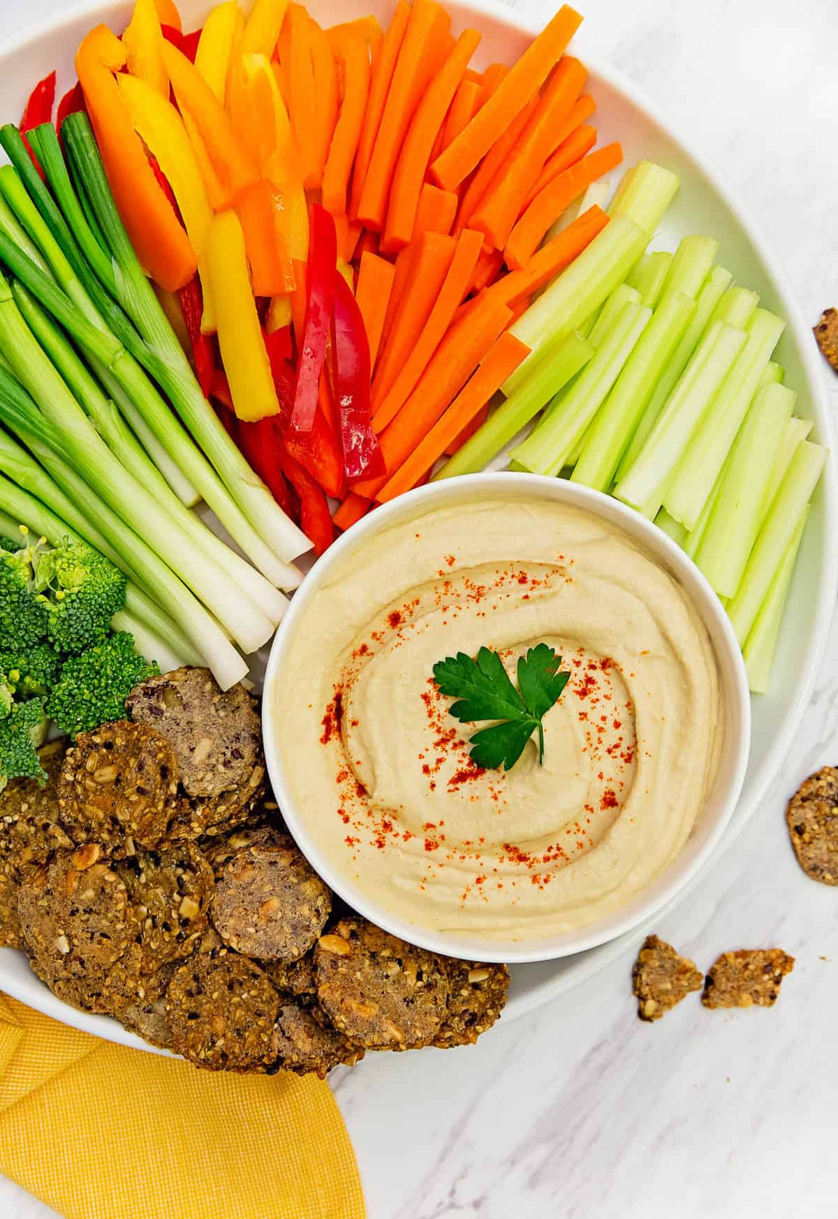 The Best Hummus Creamy Smooth Pea Dip Garbanzo