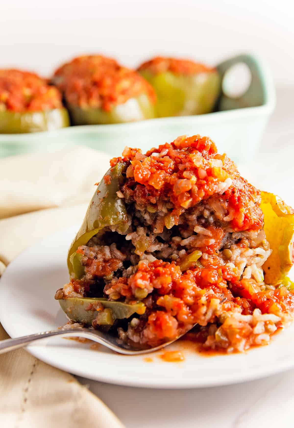 old fashioned stuffed peppers, stuffed peppers, peppers, bell peppers, recipe, stuffed pepper recipe, vegan, vegan recipe, whole food plant based recipe, whole food plant based, vegetarian, vegetarian recipe, gluten free, gluten free recipe, vegan dinner, vegan meals, vegetarian dinner, vegetarian meal, whole food plant based dinner, whole food plant based meal, gluten free dinner, gluten free meal, healthy, oil free, no oil, tomatoes, rice, lentils, mashed potatoes, red gravy, tomato gravy, entertaining, wfpb, dairy free, no dairy, traditional, American, classic, delicious, the best, winter, fall, spring, summer