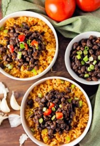 black beans, spicy, vegan, vegetarian, whole food plant based, gluten free, recipe, wfpb, healthy, oil free, no refined sugar, no oil, refined sugar free, lunch, dinner, easy, fast, quick, dinner party, entertaining, quick dinner, fast dinner, dairy free, no dairy, Mexican, Southwestern