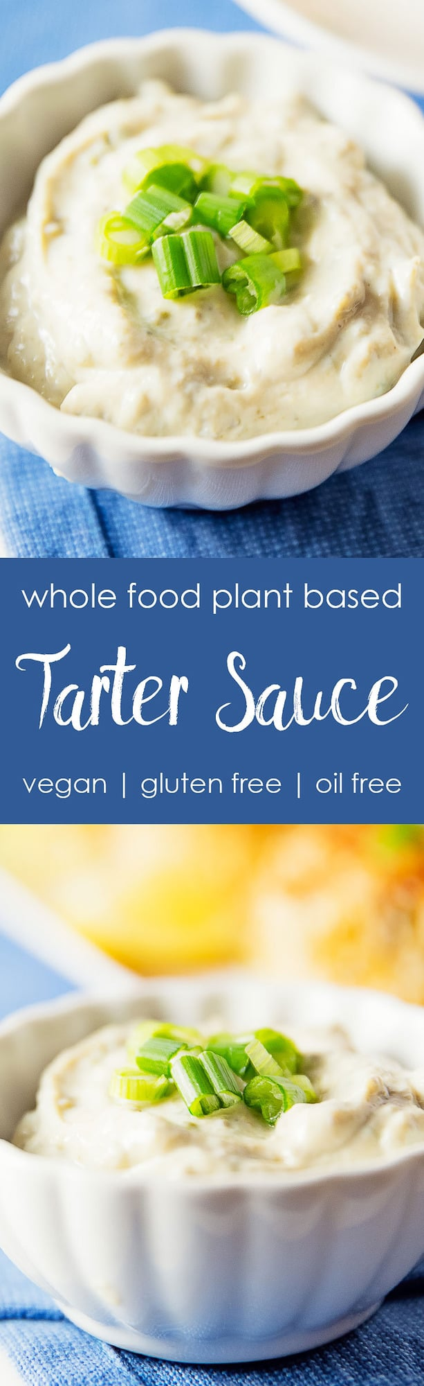 tarter sauce, silken tofu, capers, vegan, vegetarian, whole food plant based, gluten free, recipe, wfpb, American, healthy, oil free, no refined sugar, no oil, refined sugar free, lunch, dinner, side, sauce, easy, fast, quick,