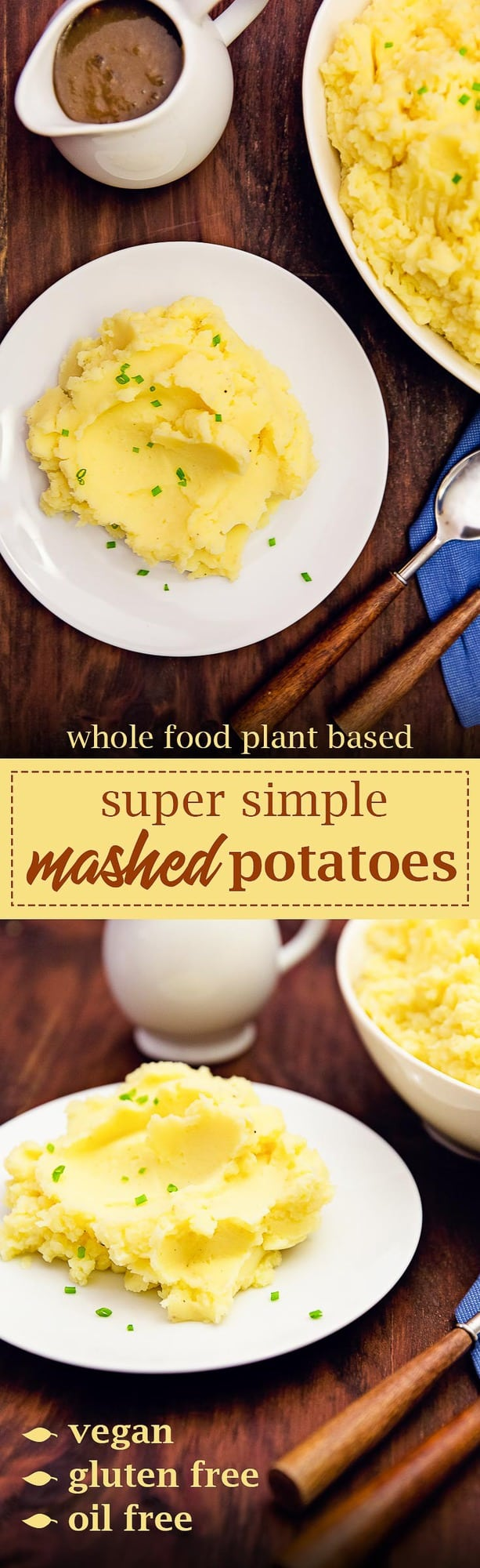 mashed potatoes, potatoes, super simple mashed potatoes, dinner, lunch, side, gluten free, vegan, vegetarian, whole food plant based, wfpb, recipe, oil free, refined sugar free, easy recipe, vegan recipe, gluten free recipe, vegetarian recipe, almond milk, vegan mashed potatoes, vegetarian mashed potatoes, whole food plant based mashed potatoes, wfpb mashed potatoes, vegan potatoes, vegetarian potatoes, whole food plant based potatoes, wfpb potatoes, quick side, side dish, gluten free side dish,