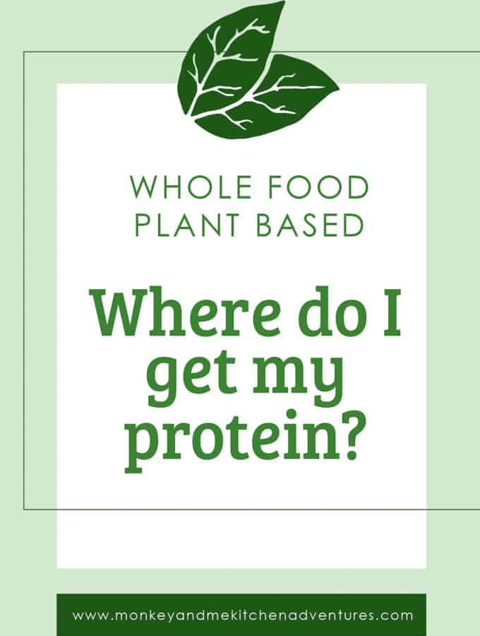 where do I get my protein, whole food plant based, resources