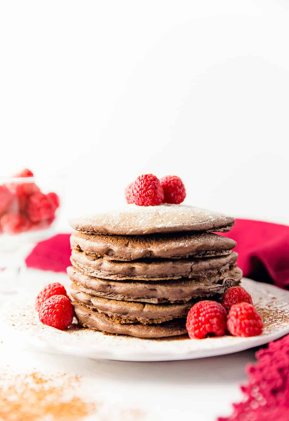 chocolate pancakes, pancakes, chocolate, vegan, vegetarian, whole food plant based, gluten free, recipe, wfpb, healthy, oil free, no refined sugar, no oil, refined sugar free, breakfast, dessert, easy, fast, quick, dairy free