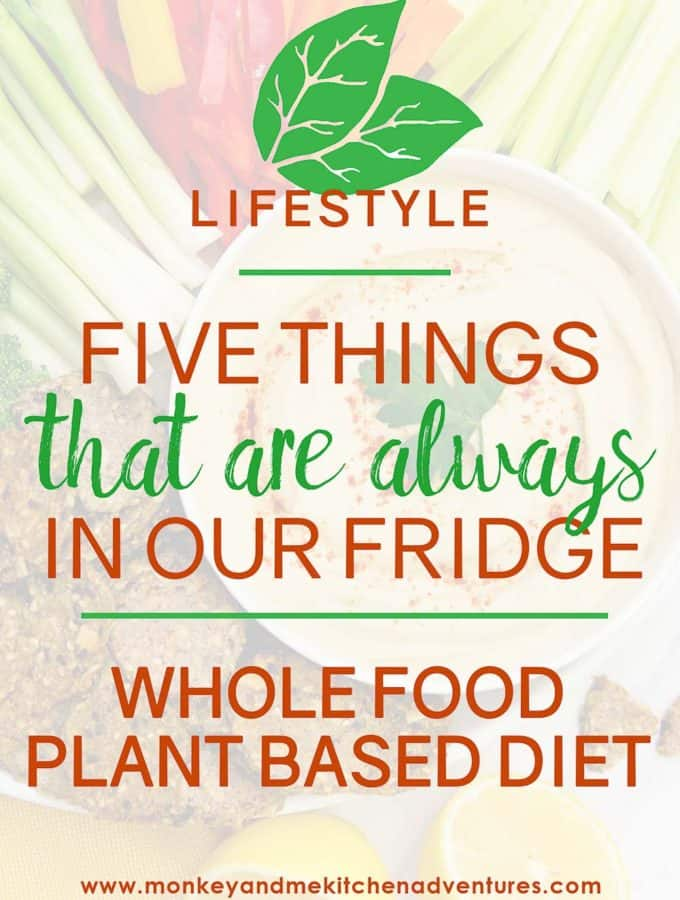 Five Things that are Always in our Fridge
