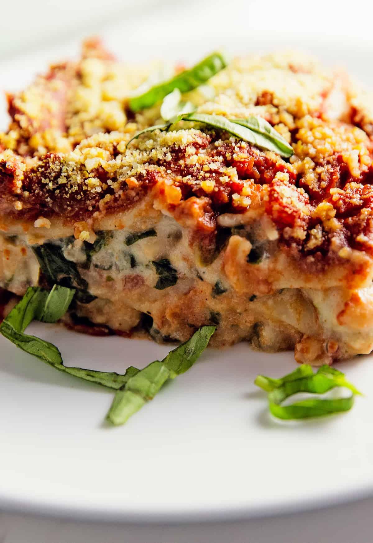 Lasagna monkey and me kitchen adventures lasagna bchamel and red sauce marinara recipe vegan vegetarian whole forumfinder Images