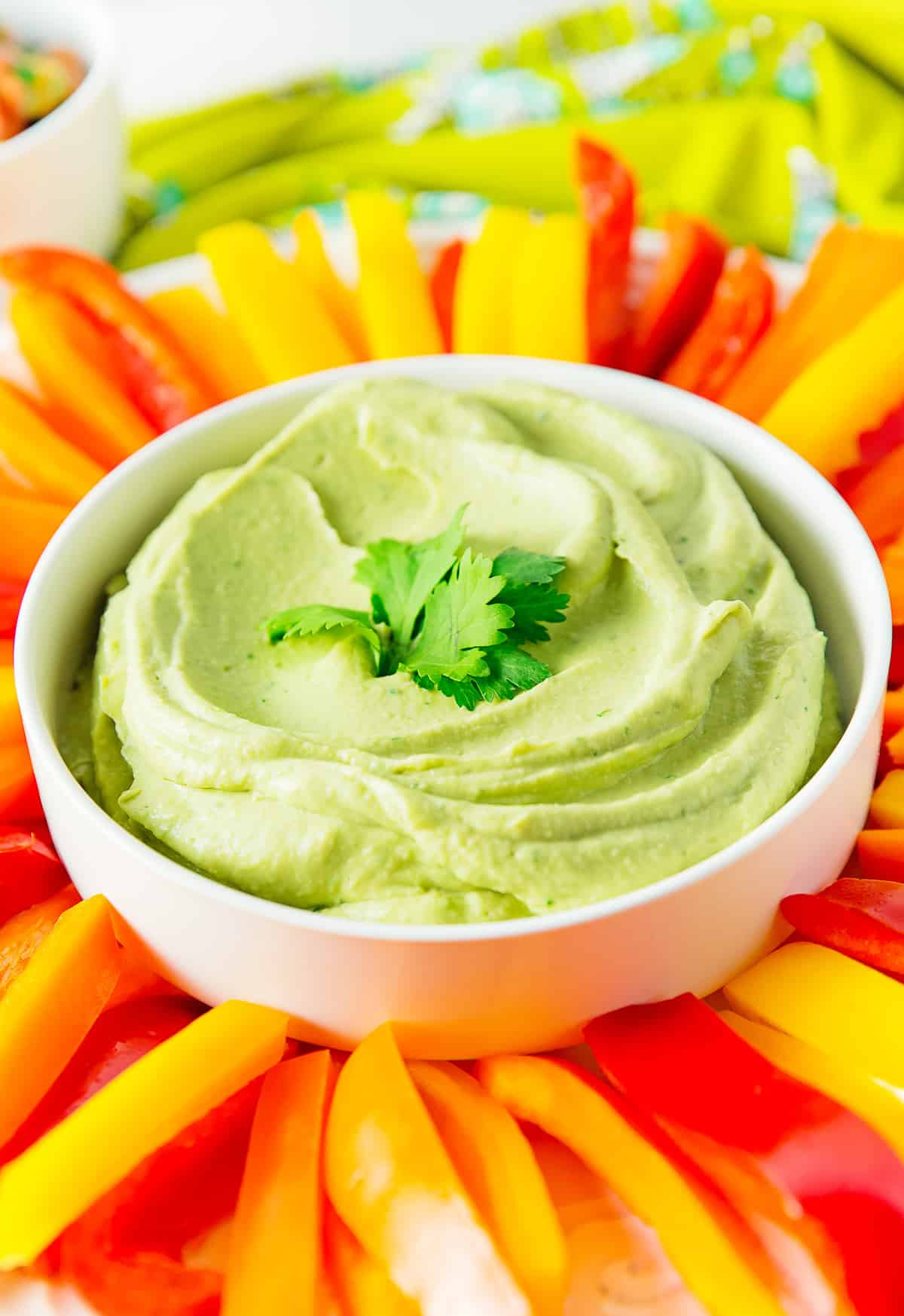 Avocado Hummus, vegan, vegetarian, whole food plant based, gluten free, recipe, wfpb, healthy, oil free, no refined sugar, no oil, refined sugar free, dinner, side, side dish, dairy free, dinner party, entertaining