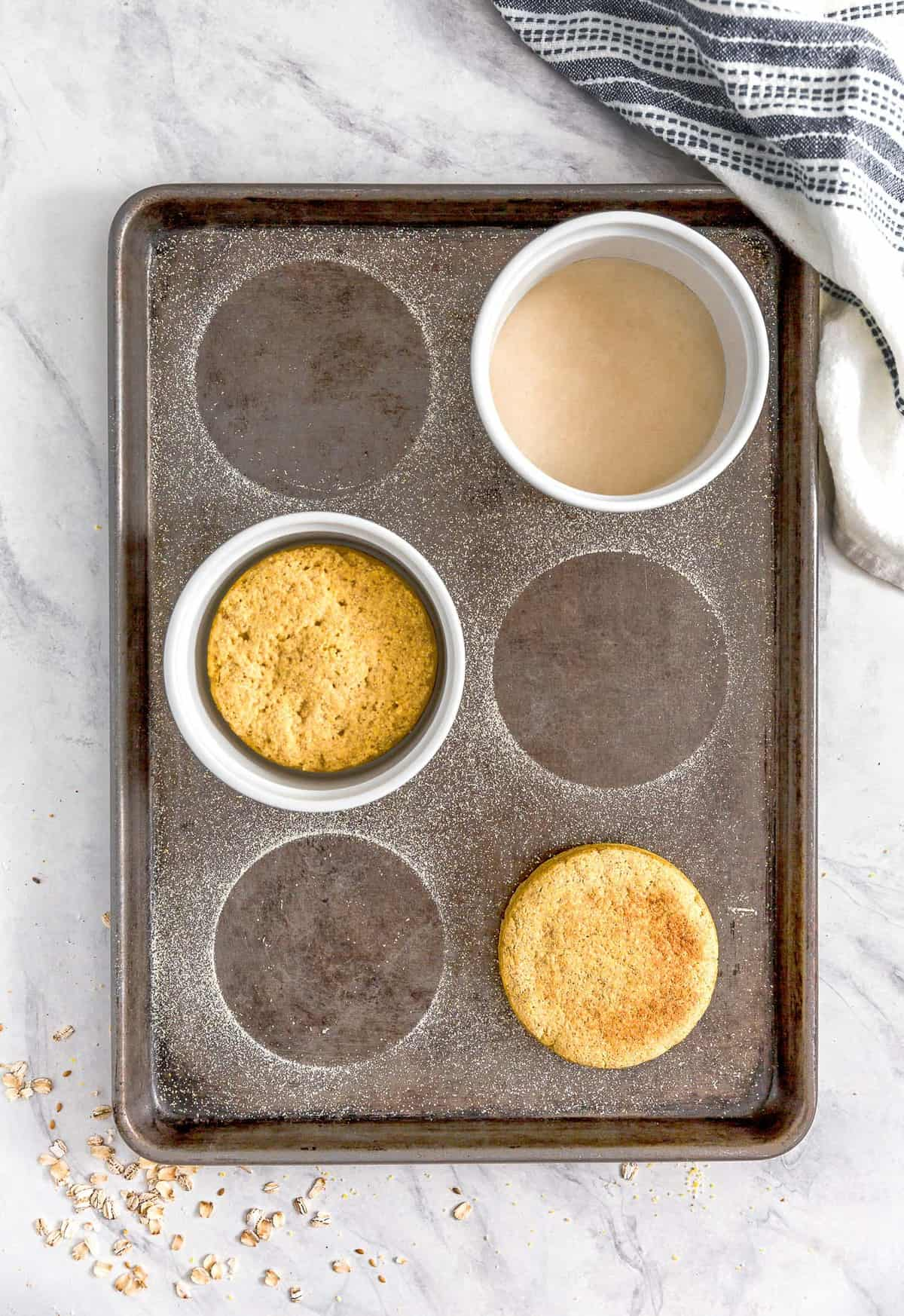 Cornmeal Biscuit, plant based, vegan, vegetarian, whole food plant based, gluten free, recipe, wfpb, healthy, healthy vegan, oil free, no refined sugar, no oil, refined sugar free, dairy free, cornmeal, biscuit, bread, english muffin, easy recipe, fast recipe, sides, breakfast
