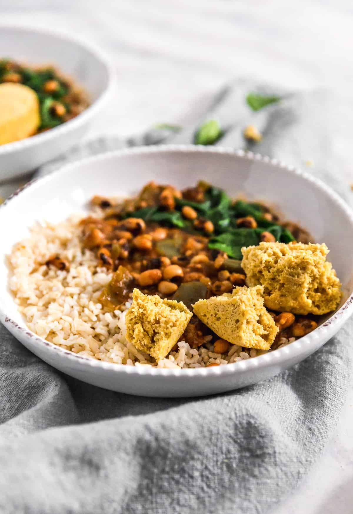 Instant Pot Cajun Black Eyed Pea Stew, Instant Pot, plant based, vegan, vegetarian, whole food plant based, gluten free, recipe, wfpb, healthy, healthy vegan, oil free, no refined sugar, no oil, refined sugar free, dairy free, stew, dinner, rice, Cajun, black eyed peas, beans