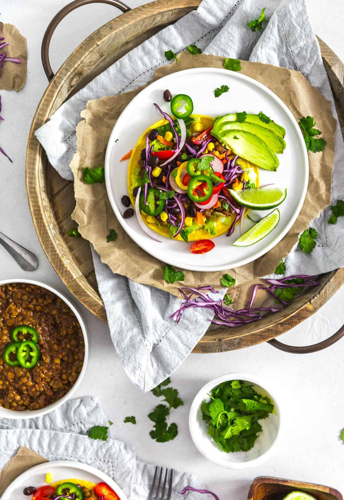 Instant pot lentil tacos monkey and me kitchen adventures instant pot lentil tacos plant based vegan vegetarian whole food plant based forumfinder Choice Image