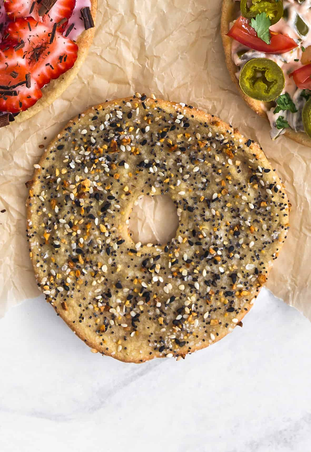 Quinoa Bagels, plant based, vegan, vegetarian, whole food plant based, gluten free, recipe, wfpb, healthy, healthy vegan, oil free, no refined sugar, no oil, refined sugar free, dairy free, breakfast, bagels, quinoa, cream cheese