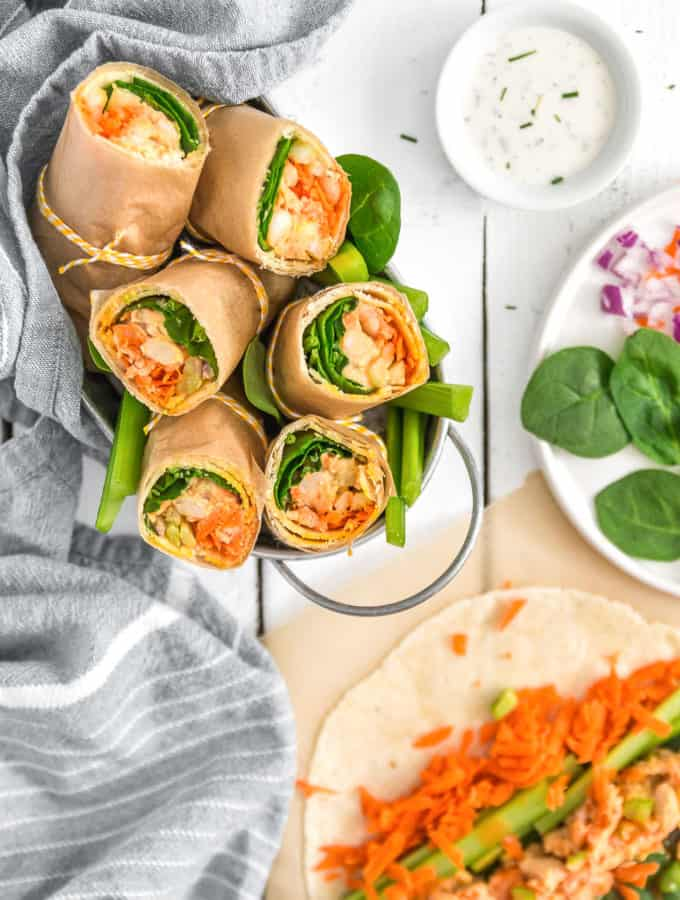 Vegan Buffalo Bean Wrap, Vegan Buffalo Bean Burrito, buffalo sauce, vegan wrap, vegan burrito, plant based, vegan, vegetarian, whole food plant based, gluten free, recipe, wfpb, healthy, healthy vegan, oil free, no refined sugar, no oil, refined sugar free, dairy free, lunch, easy recipe, fast recipe, sides, picnic, summer recipe, picnic recipe,