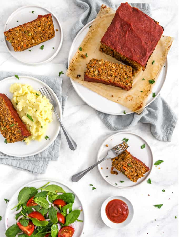 Veggie Loaf, Vegan Vegan Meatloaf, chickpea loaf, vegan loaf, loaf, vegan dinner, plant based, vegan, vegetarian, whole food plant based, gluten free, recipe, wfpb, healthy, healthy vegan, oil free, no refined sugar, no oil, refined sugar free, dairy free, dairy, holiday entree, holiday, traditional recipe, healthy recipe, dinner