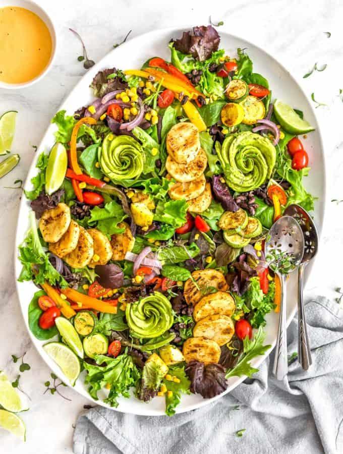 Southwestern Roasted Veggie Salad