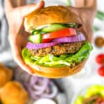 Spicy Bean Burger, Vegan burger, bean burger, vegan bean burger, vegan bean, burger, plant based burger, plant based, vegan, vegetarian, whole food plant based, gluten free, recipe, wfpb, healthy, healthy vegan, oil free, no refined sugar, no oil, refined sugar free, dairy free, dairy, dinner, lunch, healthy recipe