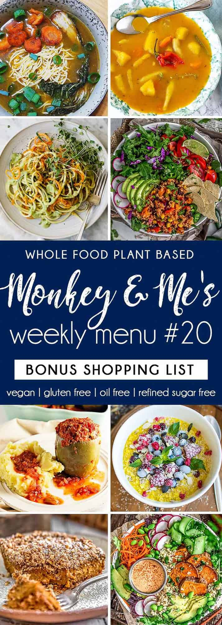 Monkey and Me's Menu featuring 8 recipes