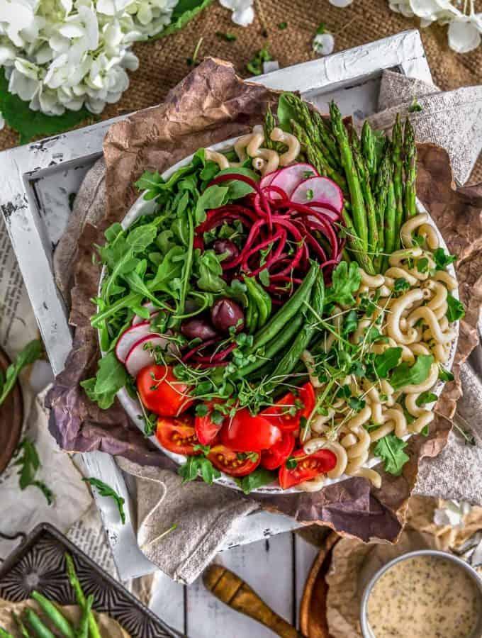 Oil Free Vegan Italian Parmesan Dressing