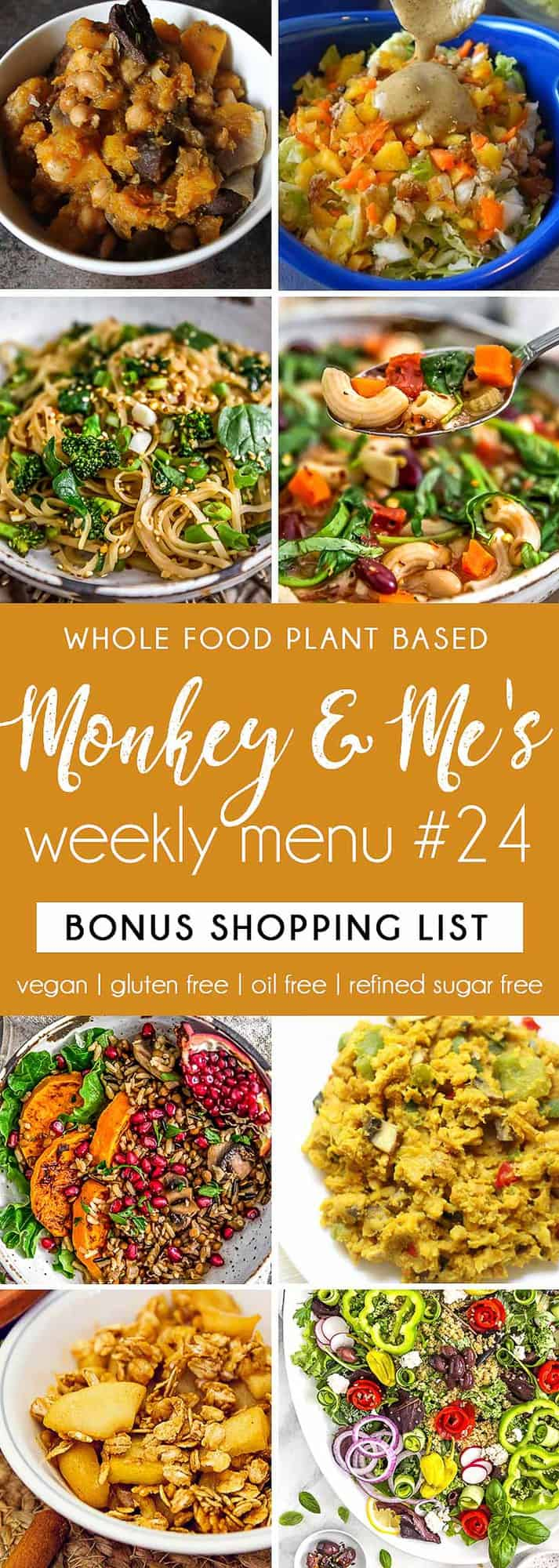Monkey and Me's Menu 24 featuring 8 recipes