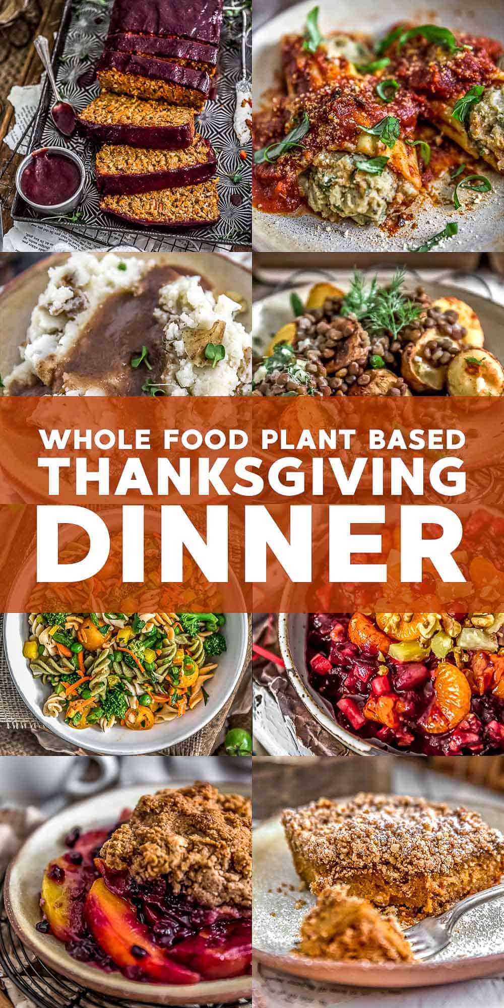 Whole Food Plant Based Thanksgiving recipes