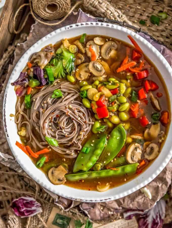 Vegan Veggie Miso Soup