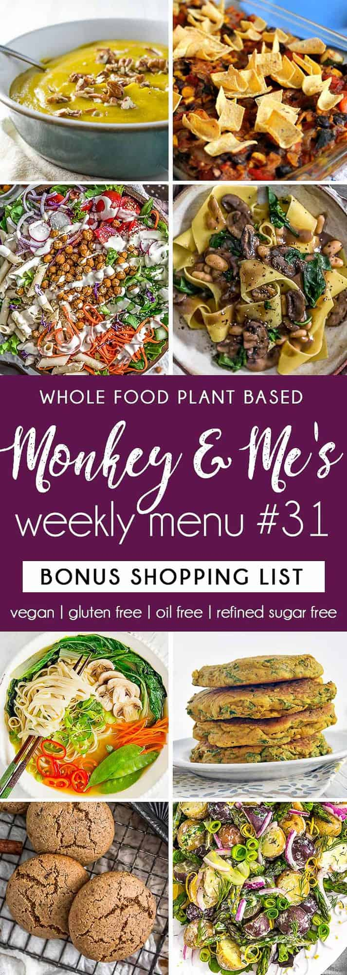 Monkey and Me's Menu 31 featuring 4 recipes