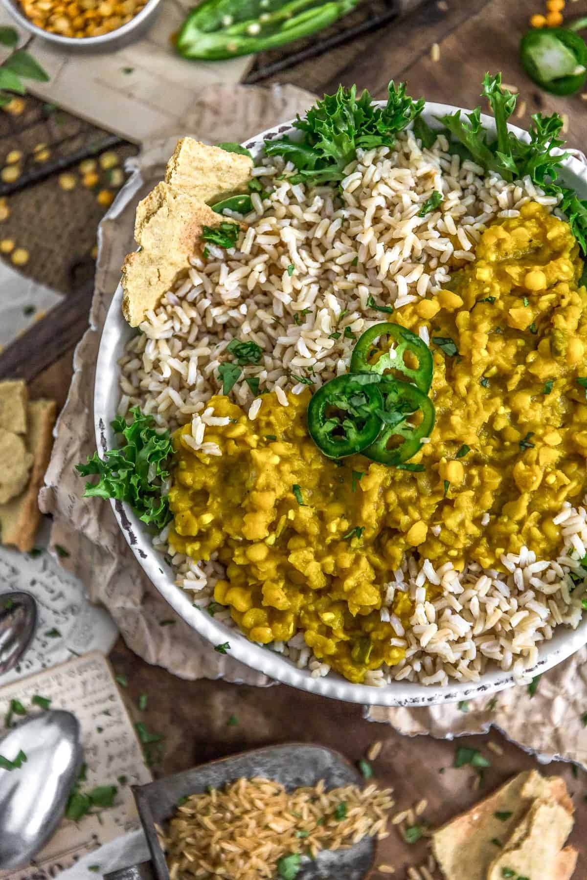 Bowl of Ethiopian Yellow Split Pea Stew