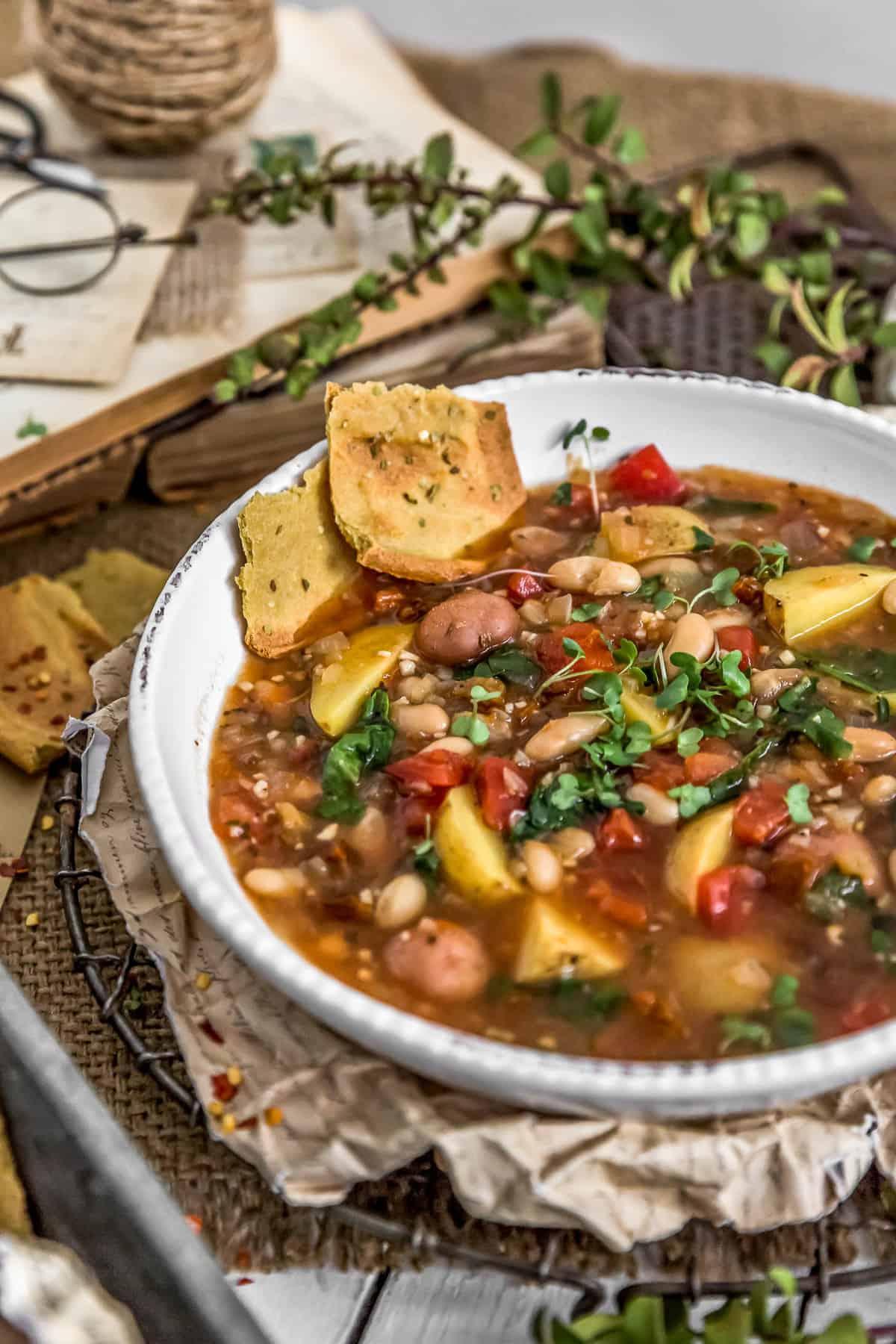 Italian Sundried Tomato Potato Soup