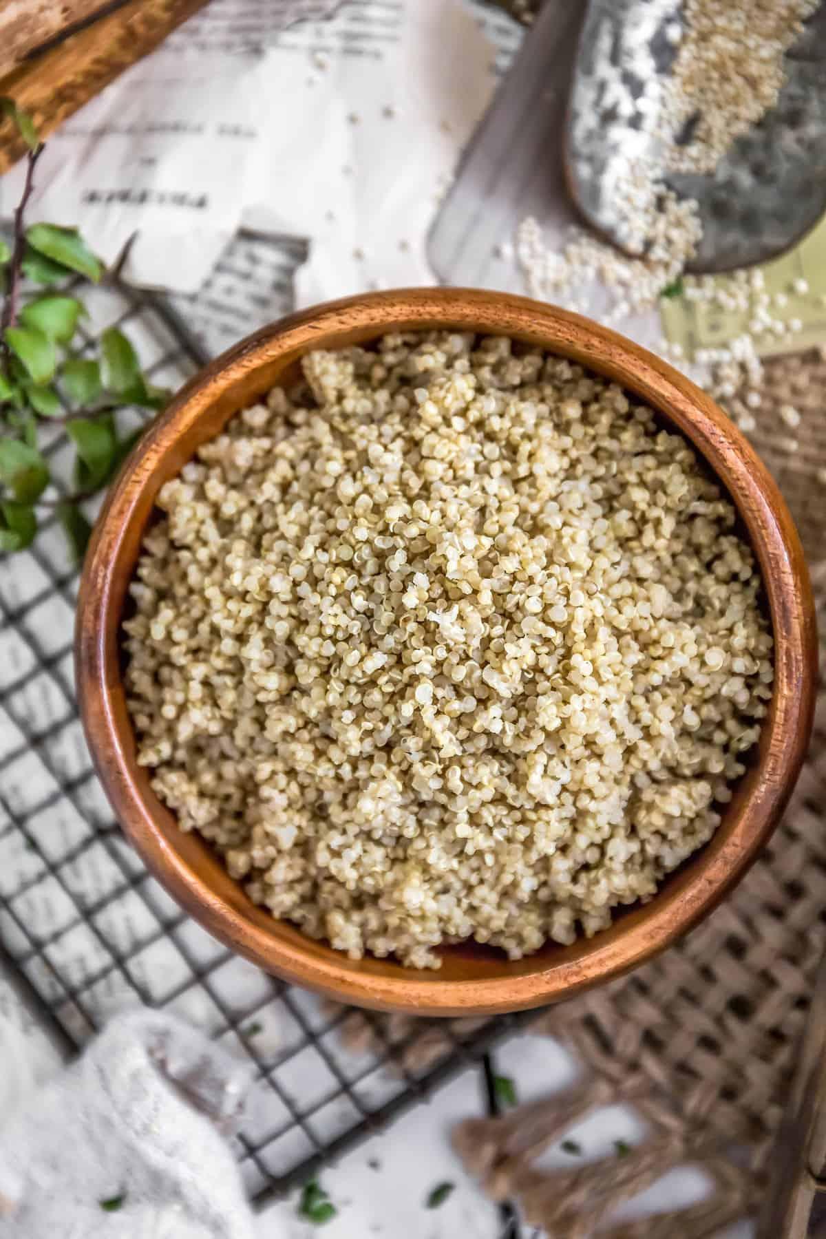 Perfectly Fluffy Quinoa
