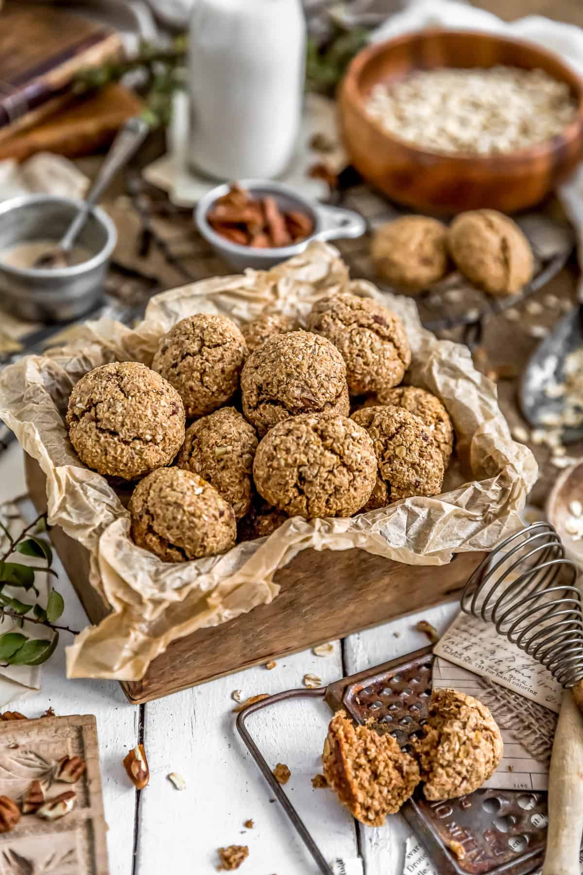 Box of Vegan Hummingbird Breakfast Cookies