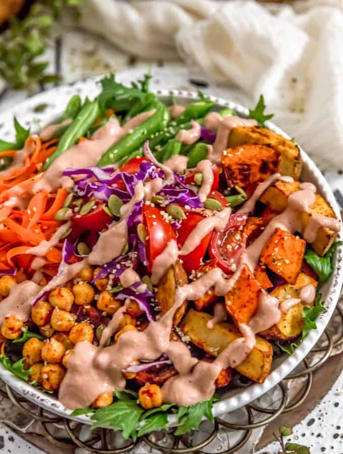 Warm Red Onion Dressing