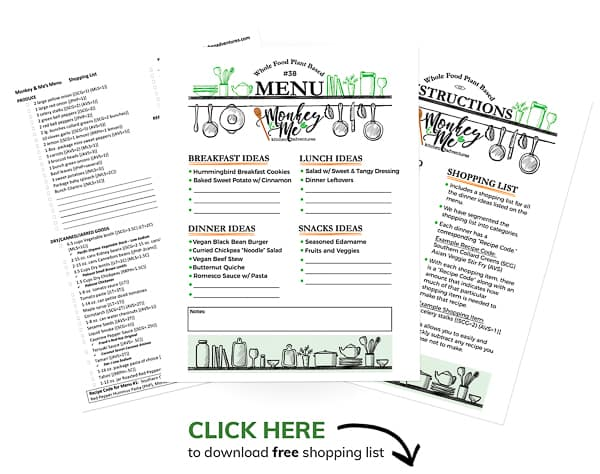 Monkey and Me's Menu 38 PDF Display