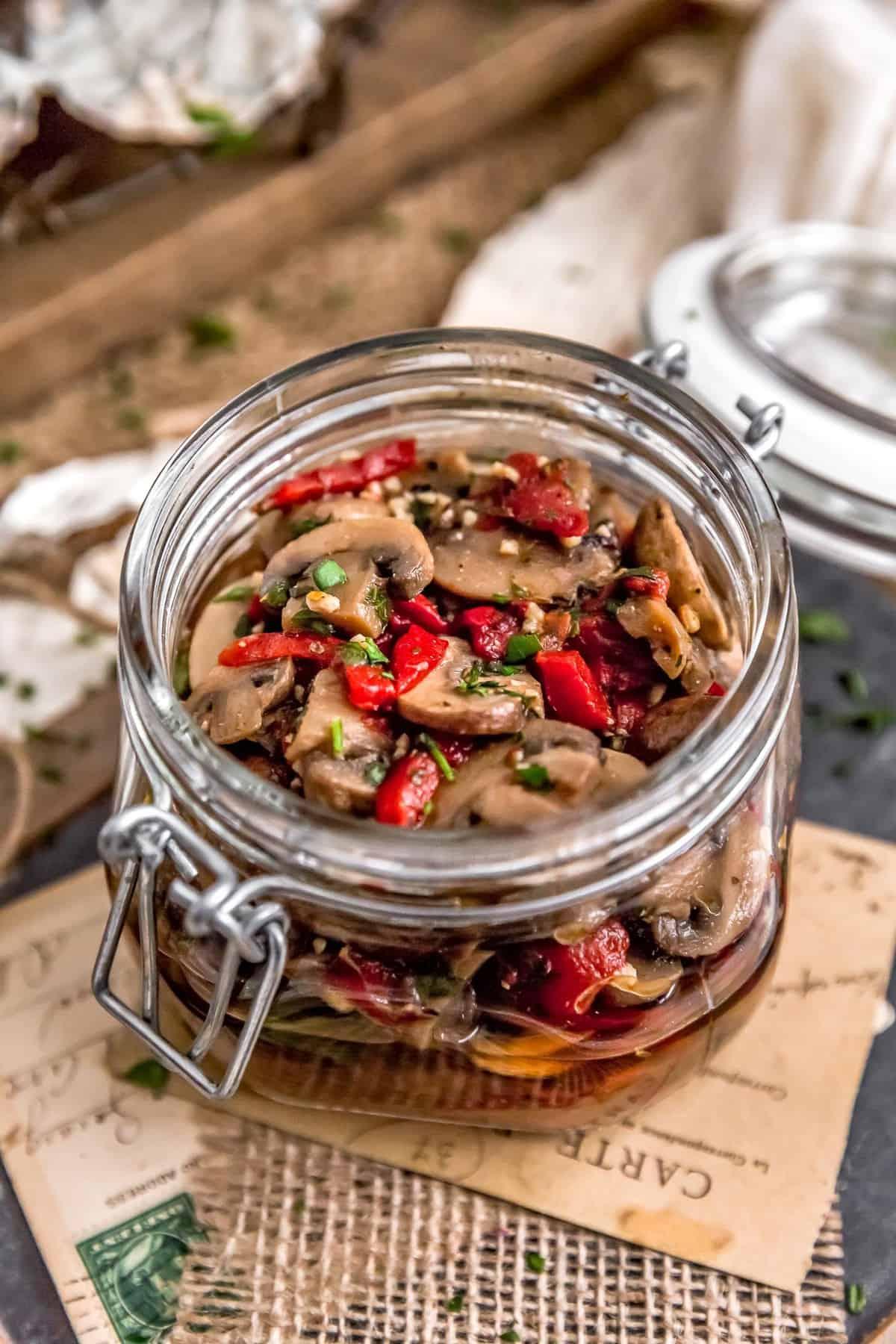 Deli-Style Marinated Mushroom Salad