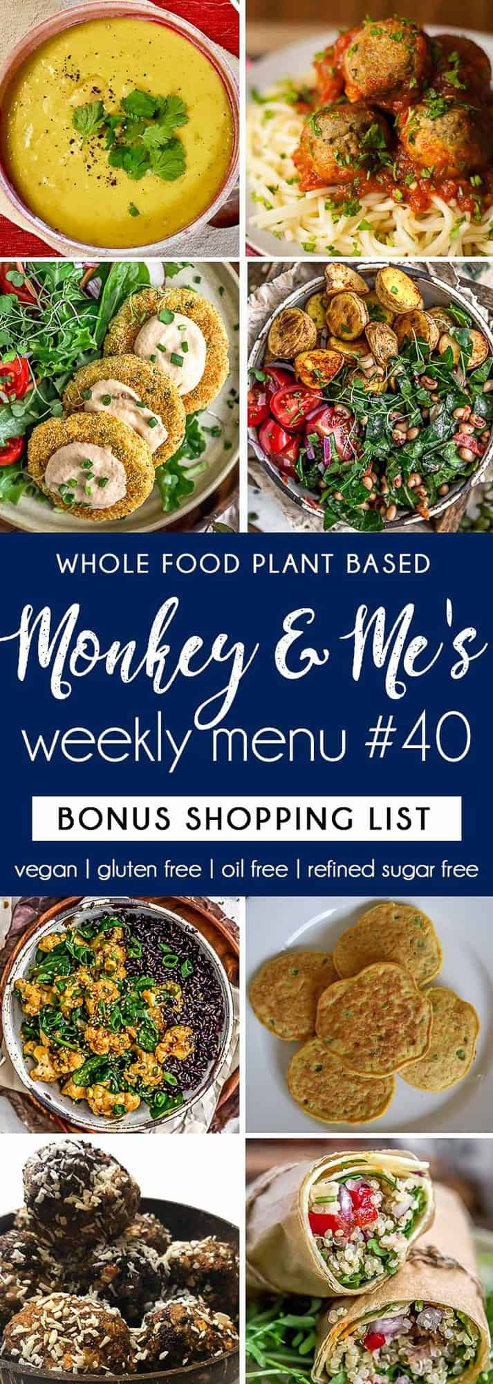 Monkey and Me's Menu 40 featuring 8 recipes