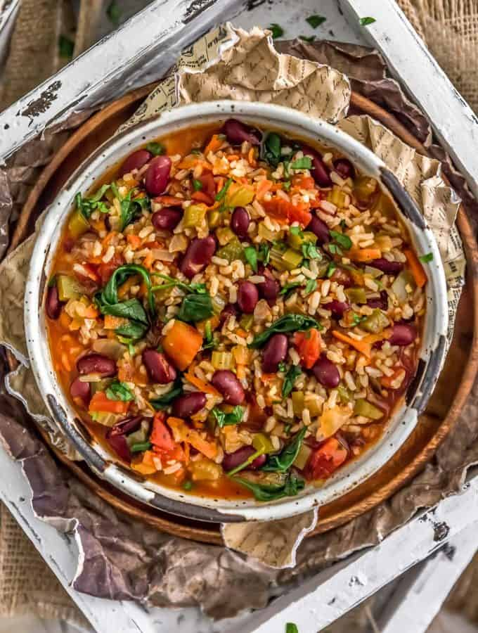 Healthy Vegan Jambalaya