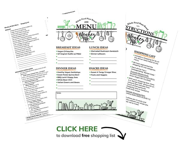 Monkey and Me's Menu 39 PDF Display