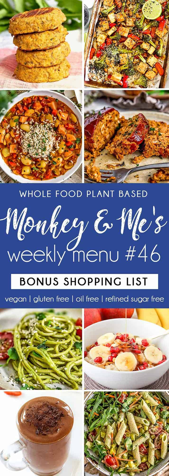 Monkey and Me's Menu 46 featuring 8 recipes