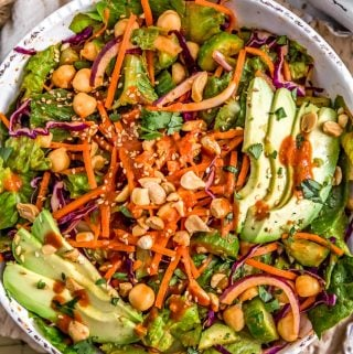 Bowl of Thai Curry Salad