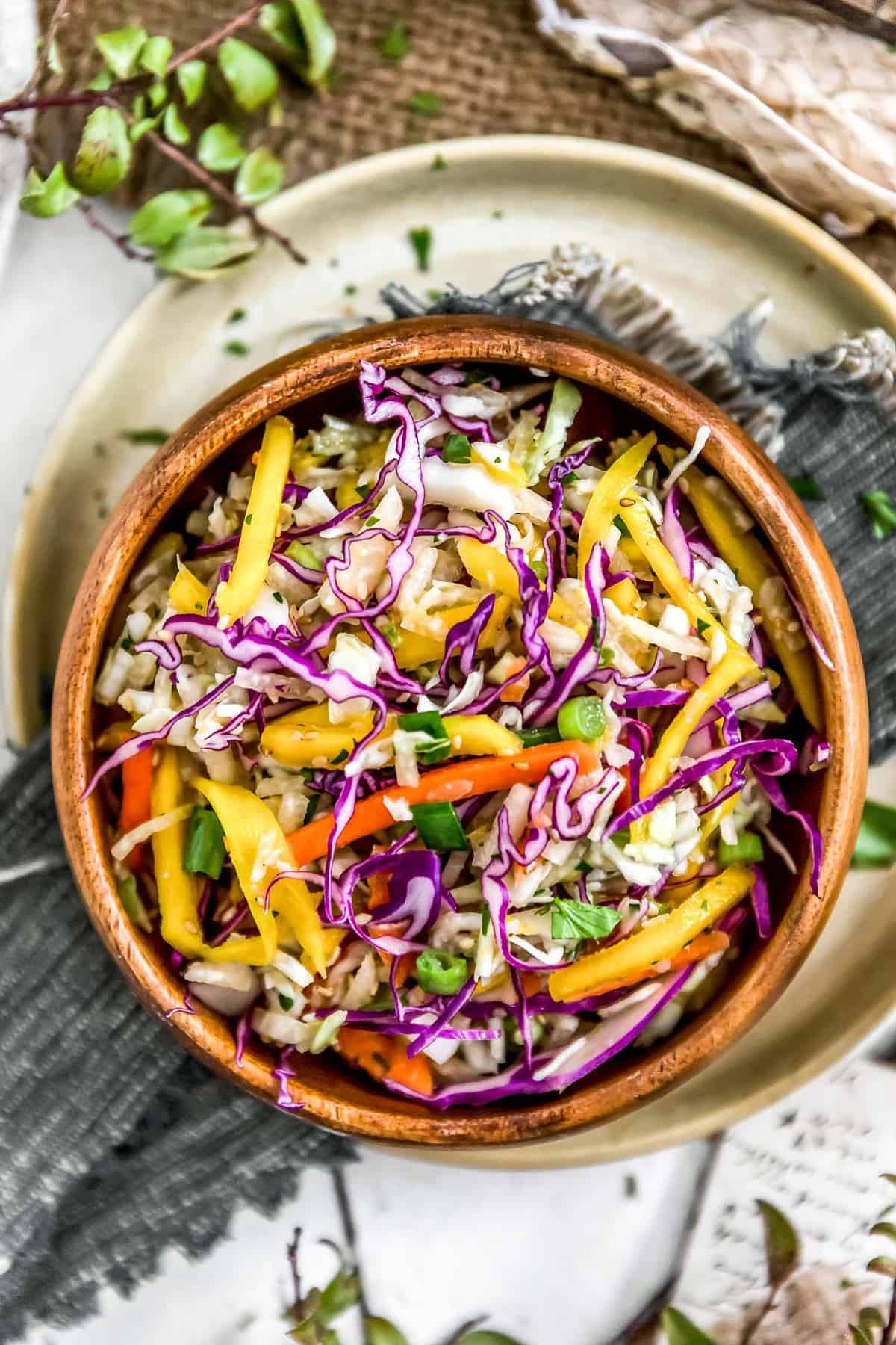 Asian Mango Slaw