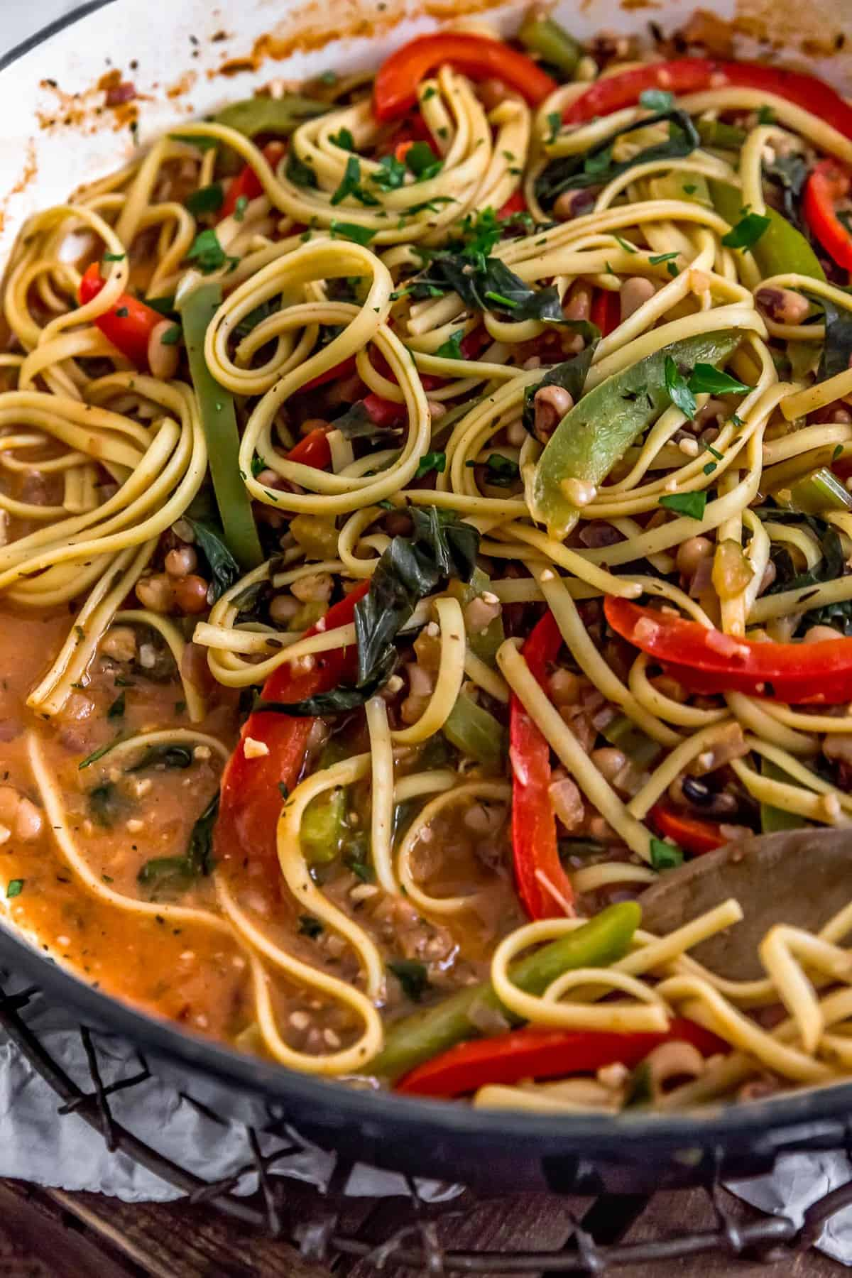 Cajun Pasta and Peppers