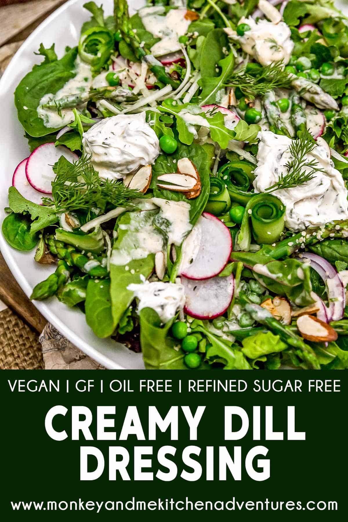 Creamy Dill Dressing with text description
