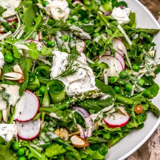 Salad with Creamy Dill Dressing