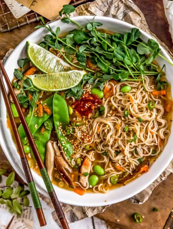 Easy Vegan Ramen