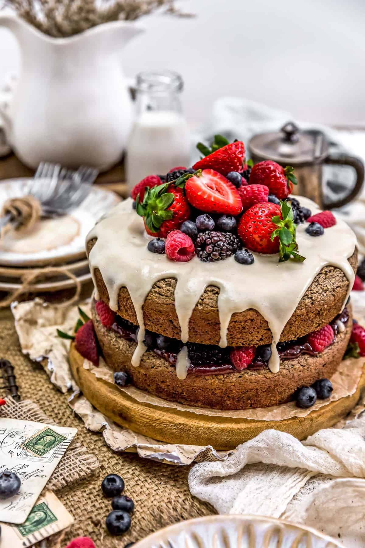 Healthy Vegan Buckwheat Cake