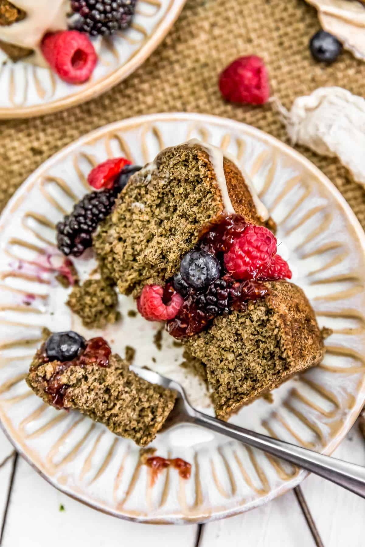 Eating Healthy Vegan Buckwheat Cake