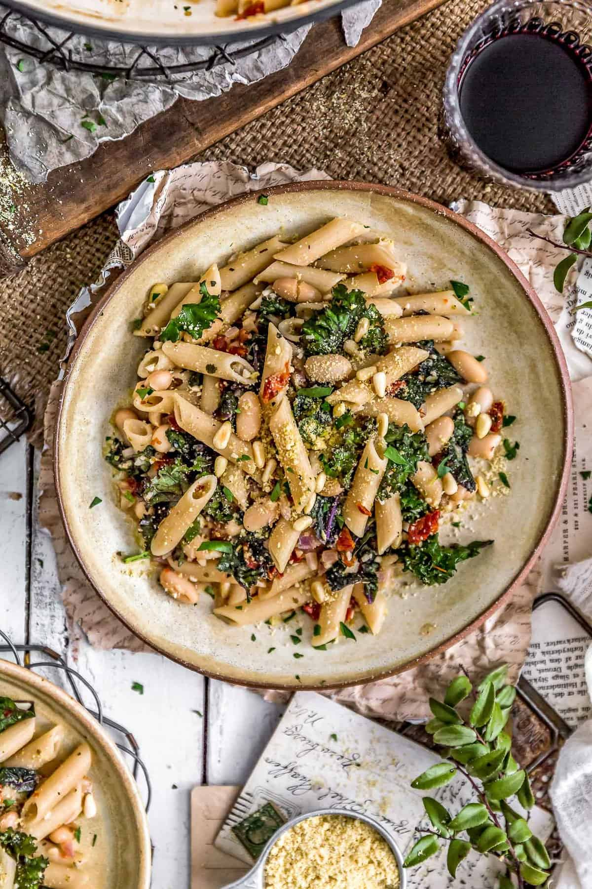Italian Pasta and Kale