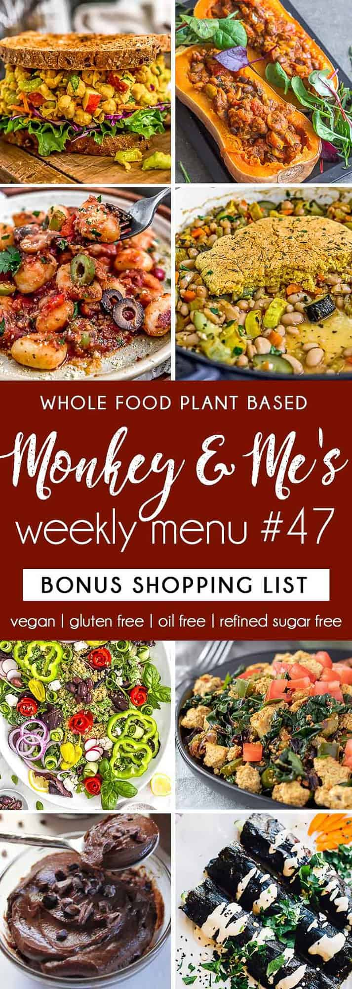 Monkey and Me's Menu 47 featuring 8 recipes