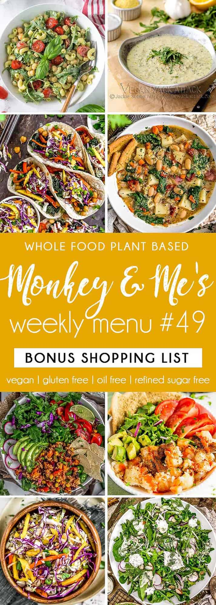 Monkey and Me's Menu 49 featuring 8 recipes