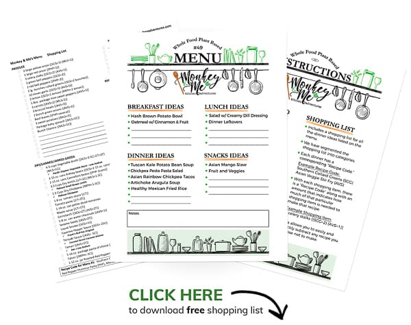 Monkey and Me's Menu 49 PDF Display PDF Display