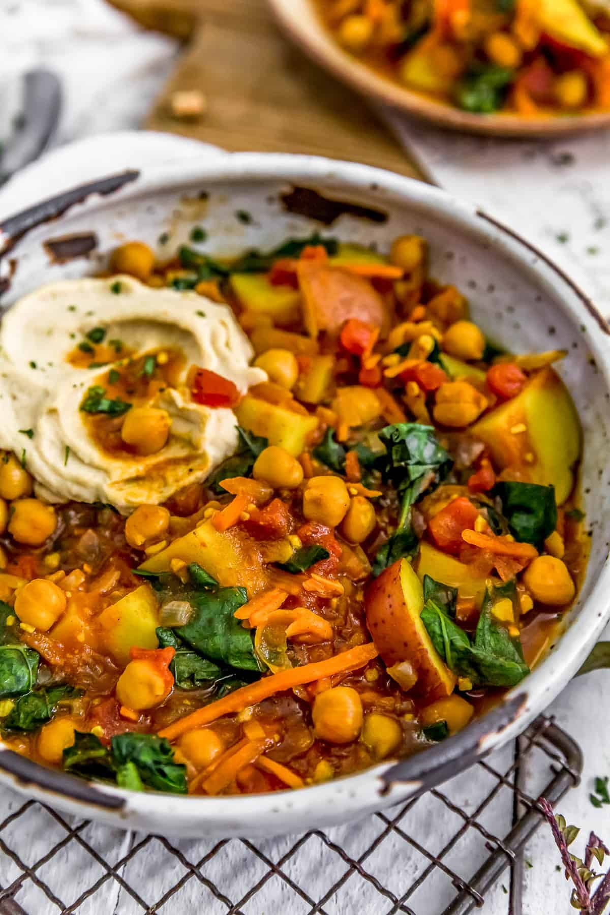 Berbere Potato Bean Stew