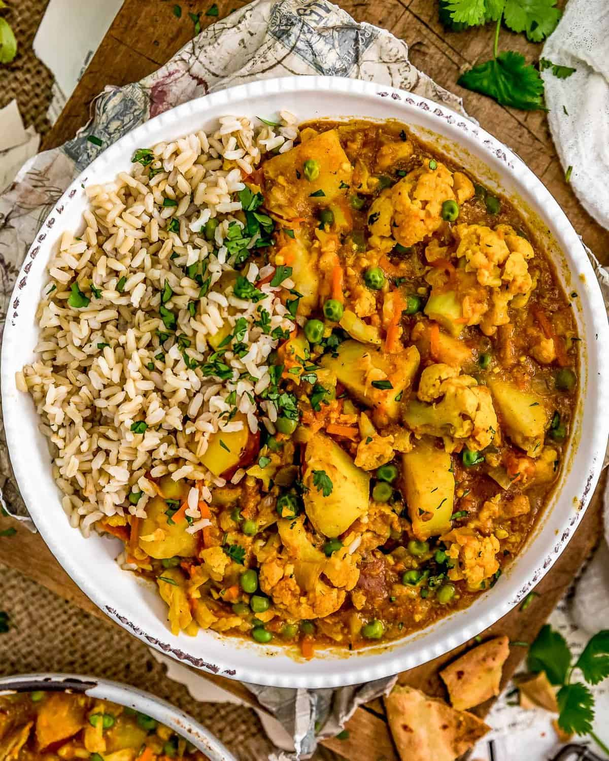 Cauliflower Potato Curry