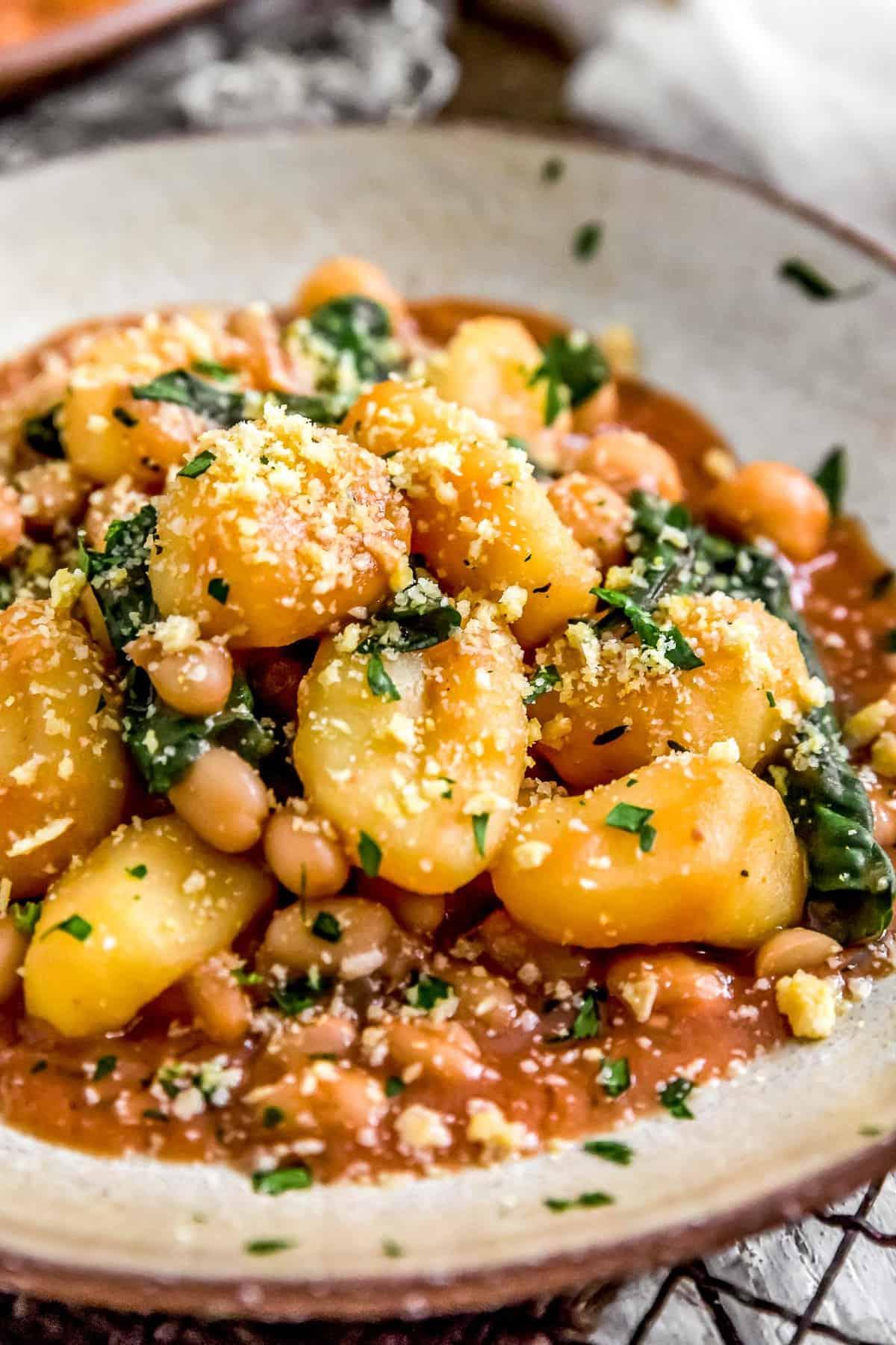 Creamy Toscana Gnocchi